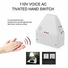 110V Electronic Light Switches Clapper Sound Sence Activated Switch On Off LN