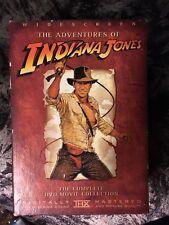 Indiana Jones The Adventure Collection (DVD, 2003, 4-Disc Set, Widescreen)