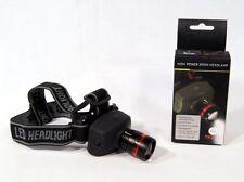 High Power Zoom TK27 Headlamp 160 LM + 170m LED Beam Range + Batteries included