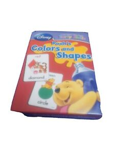 Disney Winnie The Pooh Colors And Shapes Early Skills Educational Flash Cards