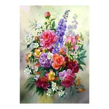 Flower Arrangement 5D DIY Diamond Painting Embroidery Cross Stitch Kit Craft