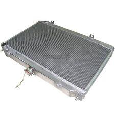 CXRacing Aluminum Radiator 2 ROW For 95-99 240SX S14 KA24