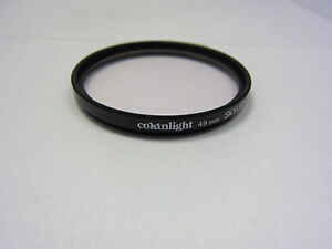 Used COKINLIGHT49mm SKYLIGHT 1A Lens Filter Made In FRANCE 6410034