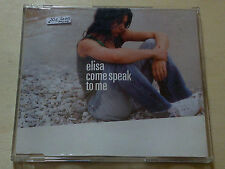 ELISA - COME SPEAK TO ME - RARO CD SINGOLO PROMO UK