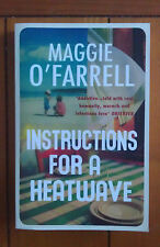 Instructions for a Heatwave by Maggie O'Farrell (Paperback) NEW