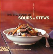 The Big Book of Soups and Stews : 262 Recipes for Serious Comfort Food by...nwt