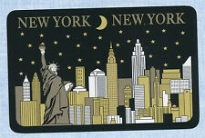 New York playing card single swap queen of clubs - 1 card