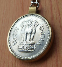 Keychain Coin India Vintage Pendant Best Gift Necklaces Jewelry Amazing Coins AA