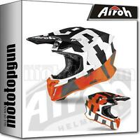AIROH TW2F32 INTEGRALHELME OFF-ROAD MOTORRAD ORANGE MATT TWIST 2.0 FRAME XXL