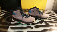 Adidas Mi Basketball Shoes Size 5.5 Mens Good Condition Funky Grey Blue Black