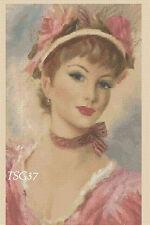 Cross Stitch Chart - Victorian Lady Belle -- no. 337 TSG37 - FREE UK P&P