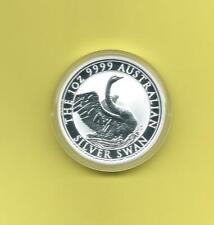 Australien 1 Unze Silber 2020  Schwan