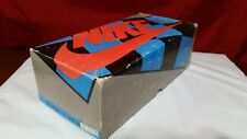 SHOE BOX ONLY VTG OG 1980's Nike Mac Attack Checkerboard John Mcenroe sz 8 7392
