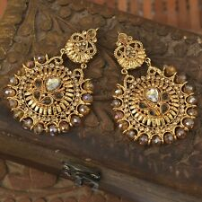 Pakistani Indian Fashion Jewelry Earring for Wedding Party & Gift - J47
