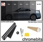 Pro Limo Black 5 Car Window Tint Roll 6m X 76cm Film Tinting