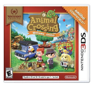 Animal Crossing New Leaf (Nintendo Selects, 3DS) Brand New Factory Sealed