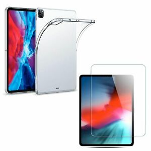 TPU Silicone Case + Armor Foil IPAD Samsung Huawei Tablet Case Transparent New