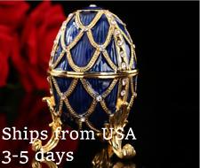 New listing Blue Faberge Egg