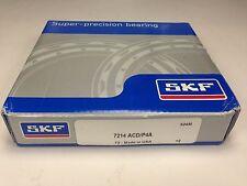 SKF 7214 ACD/P4A Super-Precision Angular Contact Ball Bearing Bearings USA NEW