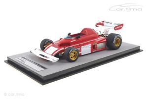 Ferrari 312 B3 Test Monza 1974 Clay Regazzoni Tecnomodel 1:18 TM18-89C