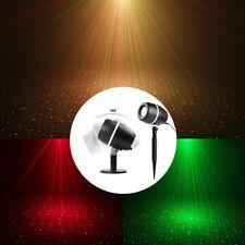 LED proyector láser 3 colores/modos luz efecto emisor LED luces navideñas