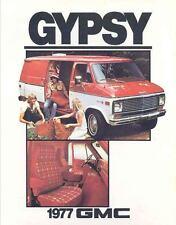 1977 GMC Gypsy G1500 G2500 Van Truck Brochure Canada my3591