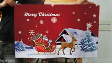 Pancartas y guirnaldas de fiesta color principal rojo Navidad