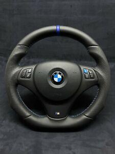 BMW E81 E82 E87 E88 E90 E91 E92 E93 M Power Shaped Flat Bottom Steering Wheel