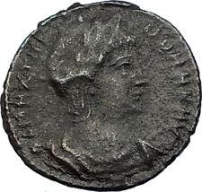 THEODORA wife of Constantius I Chlorus 337AD Authentic Ancient Roman Coin i65555