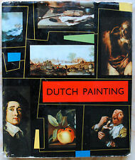 "Rare ""Dutch Painting"" A Spring Art Book-London Cloth HC with DJ– Ref.CB4"