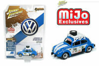 JOHNNY LIGHTNING JLCP7304 VOLKSWAGEN BEETLE BUG RACING 2400 MADE MIJO 1/64 SCALE