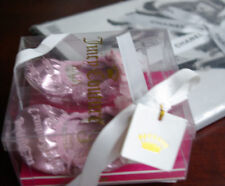 Rare! New/box Juicy Couture princess girls shoes 6-9-12 m size 3