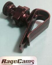 "Hat Clip Visor Grip Clip On 1/4""-20 Thread Mount For Contourroam Contour Camera"