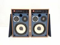 JBL 4312M Compact 3 Way LoudSpeaker Speaker Set Blue Line Harman Japan