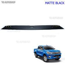 Roof Spoiler Light Leds Cap Front For Toyota Hilux Revo 4WD M70 M80 Sr5 15 16 17