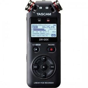 Tascam DR-05X Handheld Digital Recorder