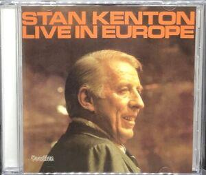 STAN KENTON - LIVE IN EUROPE, CD ALBUM, (2005).