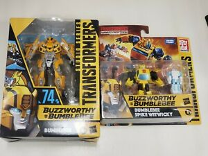 🤖🔥 Transformers BUZZWORTHY BUMBLEBEE #74 Studio Series w/2 pack Witwicky