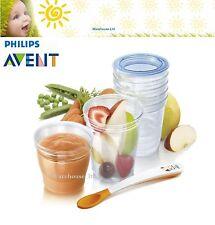 Philips AVENT Toddler SCF720/10 VIA Baby Food Storage Set-Brand New