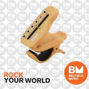 Korg HTG1 Headtune Clip on Guitar Tuner (6 A Side) KO-HTG1 Head Tune - BNIB - BM