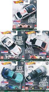 ****PRE-ORDER****Hot Wheels Car Culture Slide Street Set of 5