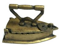 Vintage Style Handmade Brass Charcoal Iron Press Paperweight Ashtray Showpiece A