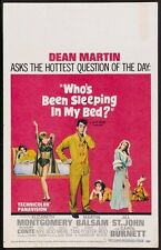 Who's Been Sleeping in My Bed? 1963 Dean Martin Vintage Repro 12x18 Movie Poster