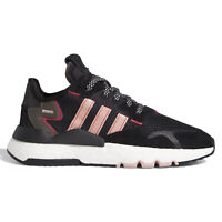 ADIDAS ORIGINALS NITE JOGGER Womens Boost Athletic Shoes, Black & Pink, Size 8.5