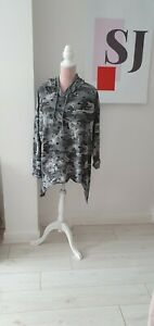Made in Italy Star  camouflage Hoody top