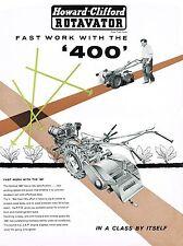 Howard Clifford Rotavator 400 - Brochure