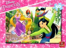King Disney Princess 50 Piece Childrens Jigsaw Puzzle Age 4 05318a