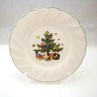 "Nikko HAPPY HOLIDAYS Bread & Butter Plate 7"" READ"