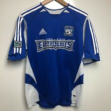 Adidas Soccer Jersey Youth XL Blue MLS San Jose Earthquakes