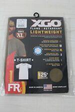 XGO S/S PHASE 1 FLAME RETARDANT LIGHTWEIGHT CREW TAN T-SHIRT SIZE X-LARGE  USA